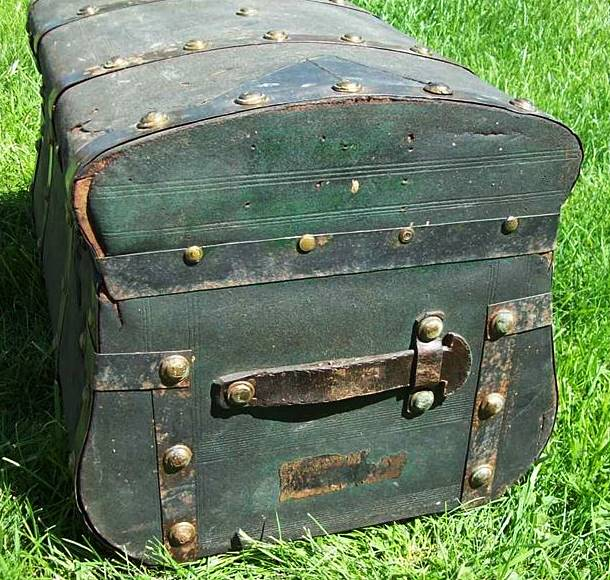 T106 - Jenny Lind, Stagecoach Trunk, Ca. 1860 - Click Image to Close